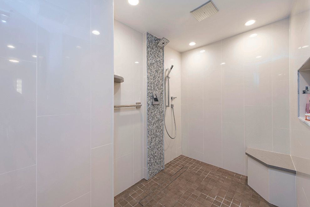 Lykos for a Contemporary Bathroom with a Master Bedroom and Savoy Master Suite by the Lykos Group, Inc.
