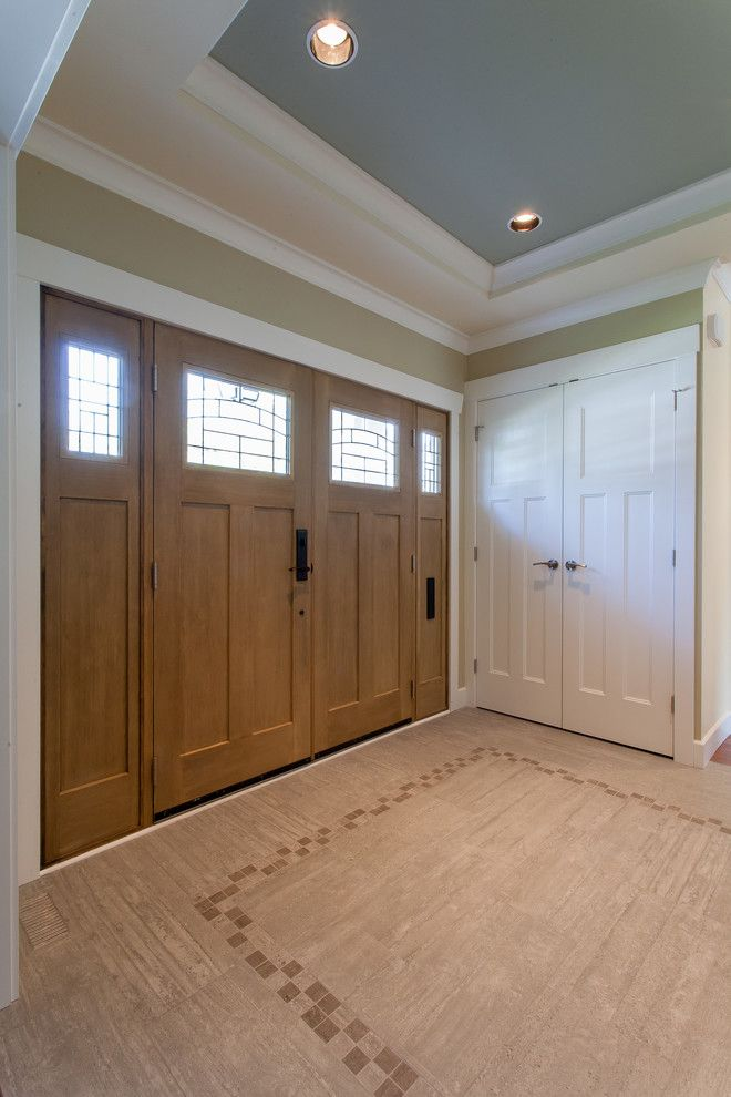 Lynden Door for a Craftsman Entry with a Craftsman and Vancouver West   Custom Home by Kenorah Design + Build Ltd.