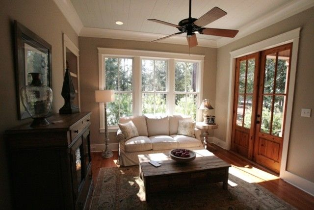 Malouf Furniture for a Traditional Family Room with a Parade Home and 2010 Parade Home by Bob Chatham Custom Home Design