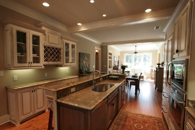 Malouf Furniture for a Traditional Kitchen with a Cottage and 2010 Parade Home by Bob Chatham Custom Home Design
