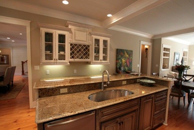 Malouf Furniture for a Traditional Kitchen with a Parade Home and 2010 Parade Home by Bob Chatham Custom Home Design
