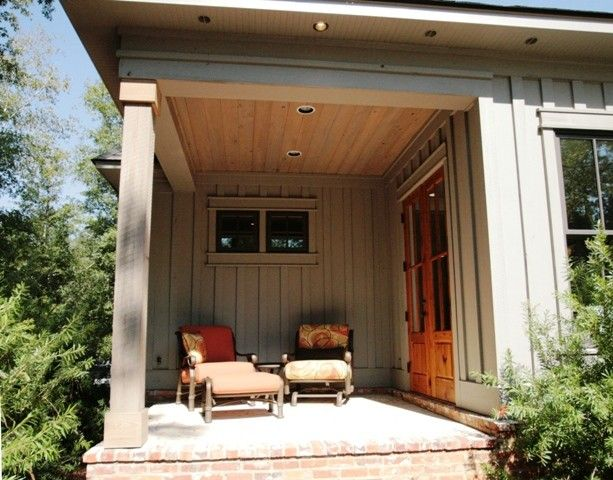 Malouf Furniture for a Traditional Porch with a Pat Achee and 2010 Parade Home by Bob Chatham Custom Home Design