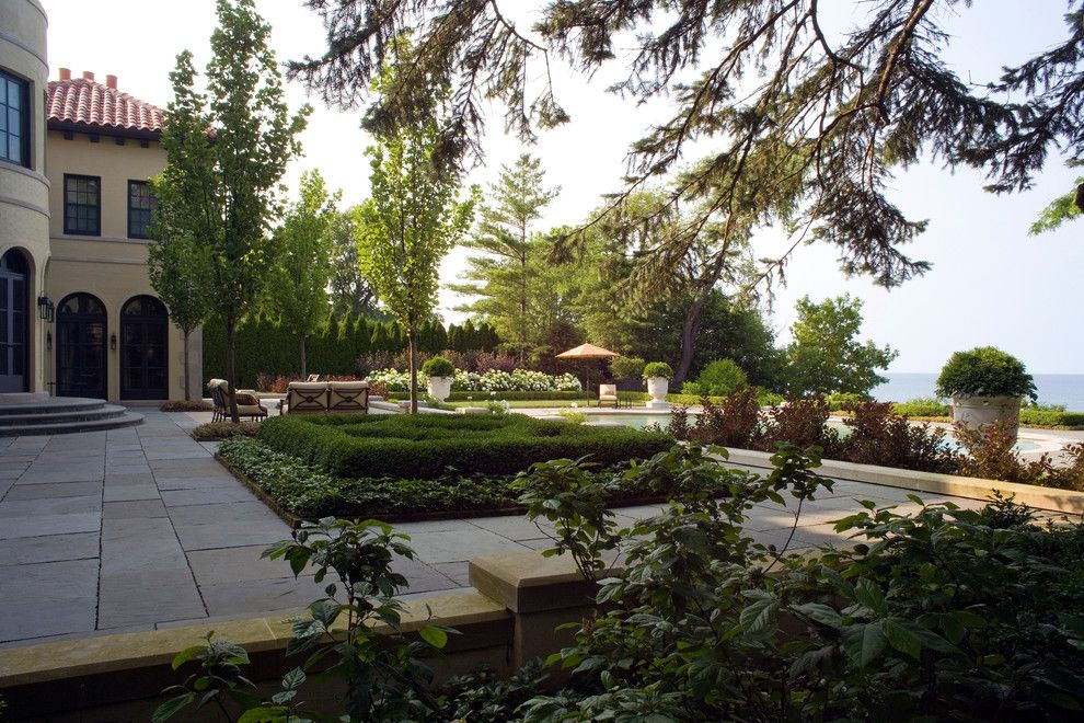 Mariani Landscape for a Traditional Landscape with a Water Feature and Renaissance Home by Mariani Landscape