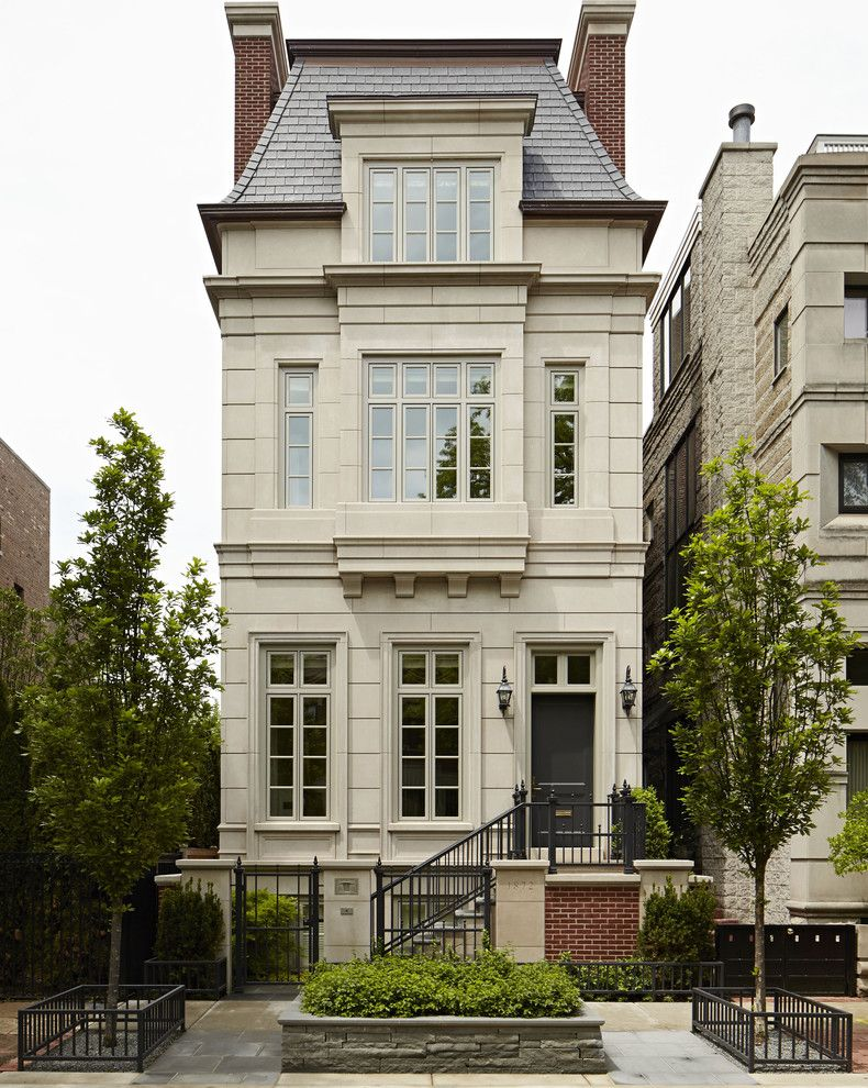 Marlette Homes for a Traditional Exterior with a City Home and Lincoln Park   Howe by Middlefork Development Llc