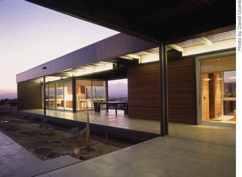 Marmol Radziner for a Modern Exterior with a Desert and Marmol Radziner Prefab by Marmol Radziner