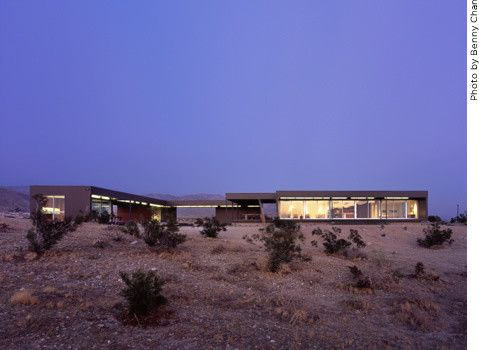 Marmol Radziner for a Modern Exterior with a Landscape and Marmol Radziner Prefab by Marmol Radziner