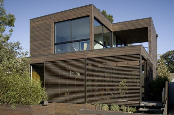 Marmol Radziner for a Modern Exterior with a Modern and Marmol Radziner Custom Prefab Homes by Marmol Radziner