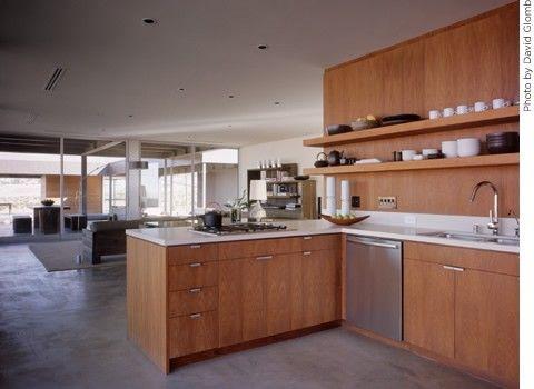 Marmol Radziner for a Modern Kitchen with a Cabinets and Marmol Radziner Prefab by Marmol Radziner