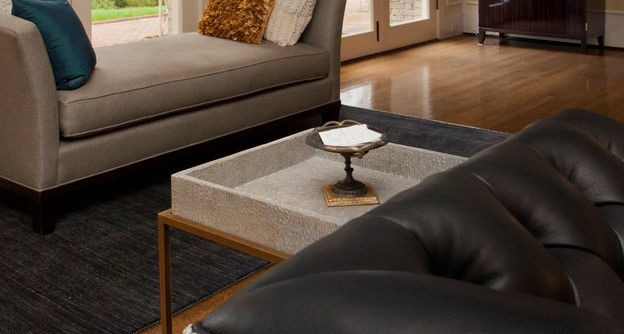 Masins Furniture for a Contemporary Family Room with a Masins Furniture and Lakewold Gardens Redesign by Seldens Furniture