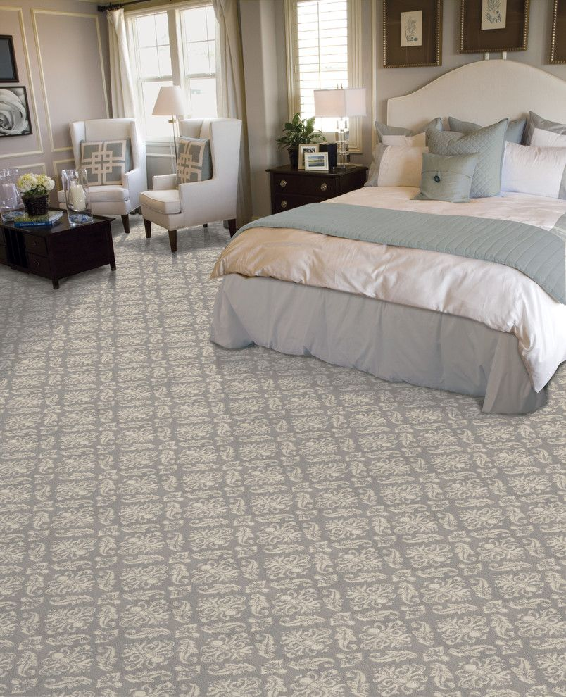 Masland Carpet for a  Bedroom with a Carpet and Stairs by Masland Carpets