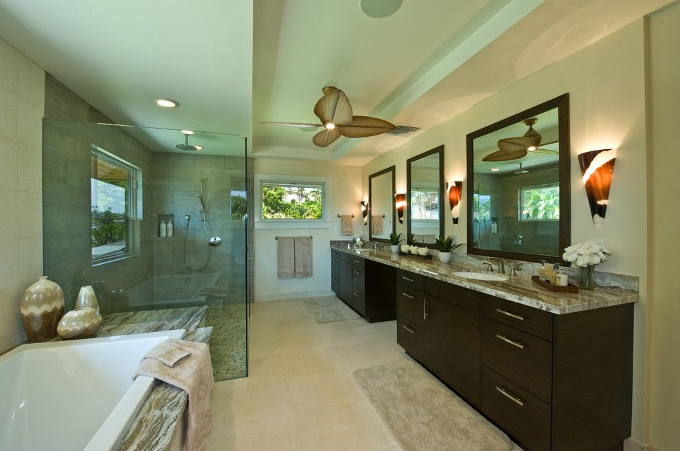 Masland Carpet for a Transitional Bathroom with a Bathroom Remodel and Kitchen & Bathroom Remodel Hawaii by Ferguson Bath, Kitchen & Lighting Gallery