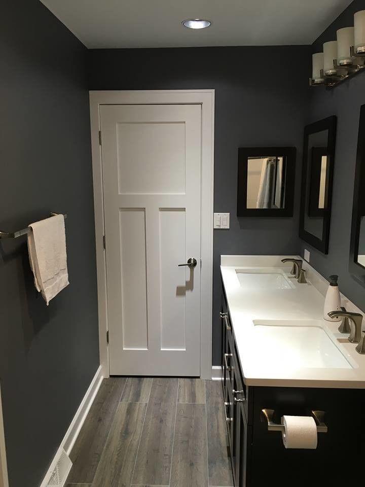 Masonite Doors for a Craftsman Bathroom with a Bathroom Design and Bathroom Remodel with Masonite Heritage Winslow Door by Masonite Doors