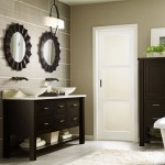 Masterbrand Cabinets for a  Bathroom with a Espresso and Omega Puritan Bath Cabinets by Masterbrand Cabinets, Inc.