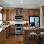 Masterbrand Cabinets for a  Kitchen with a Mullion Glass Doors and Aristokraft Grayson Kitchen Cabinets by Masterbrand Cabinets, Inc.