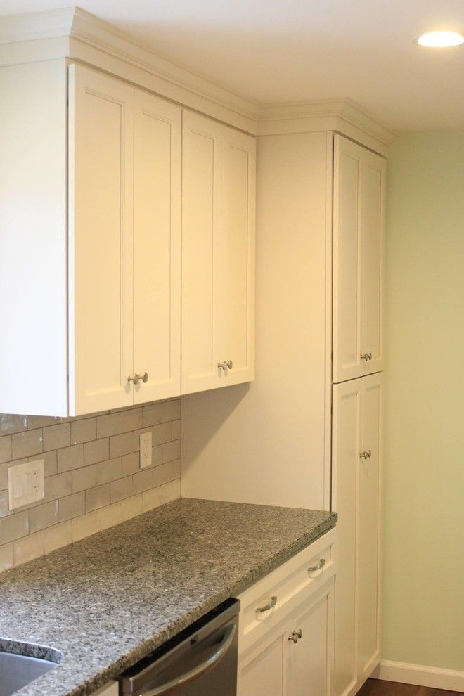 Mastercraft Cabinets for a Transitional Kitchen with a Kitchen Cabinetry and Joseph Kitchen Conversion by Mastercraft Kitchen & Bath