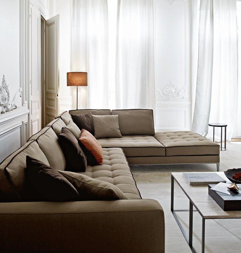 Maxalto for a Modern Living Room with a Cadys Alley and Maxalto - B&B Italia by Maxalto - B&B Italia