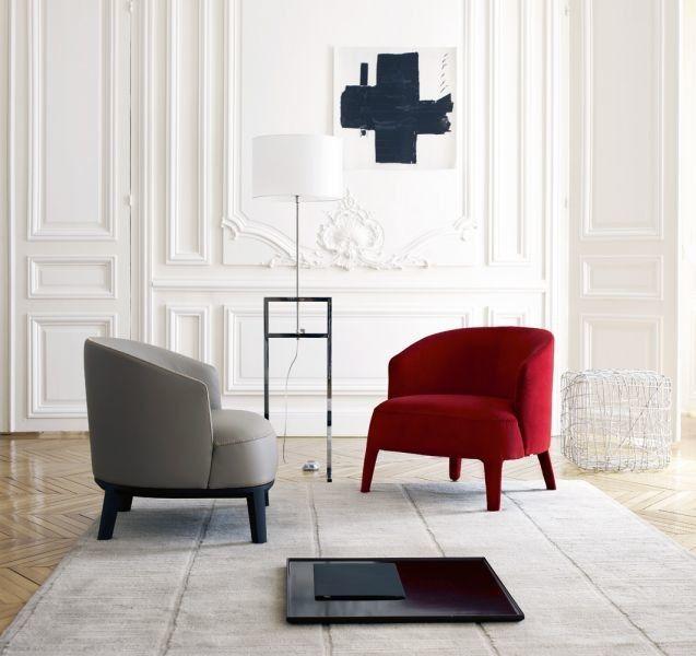 Maxalto for a Modern Living Room with a Luekon Lighting and Febo Lounge   Maxalto Georgetown by Maxalto   B&b Italia