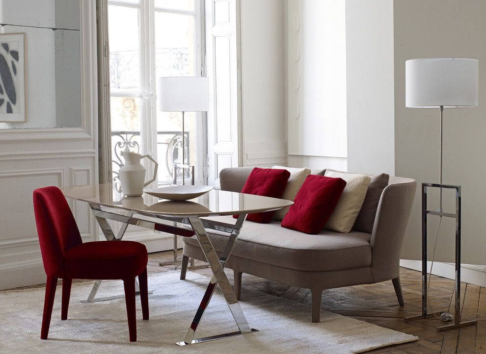Maxalto for a Modern Living Room with a Maxalto and Maxalto   Febo Collection by Maxalto   B&b Italia