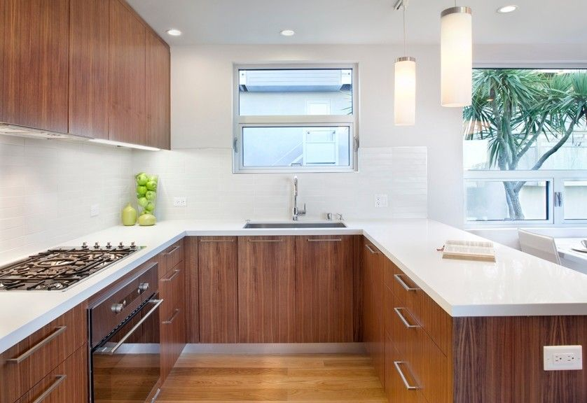 Mcelroy Metal for a Midcentury Kitchen with a Walnut Veneer and Mid Century Remodel by Knocknock