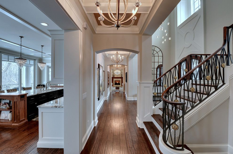 Mchsi for a Traditional Hall with a Residential Design Peter Eskuche and Graham Hill Residence by Eskuche Design