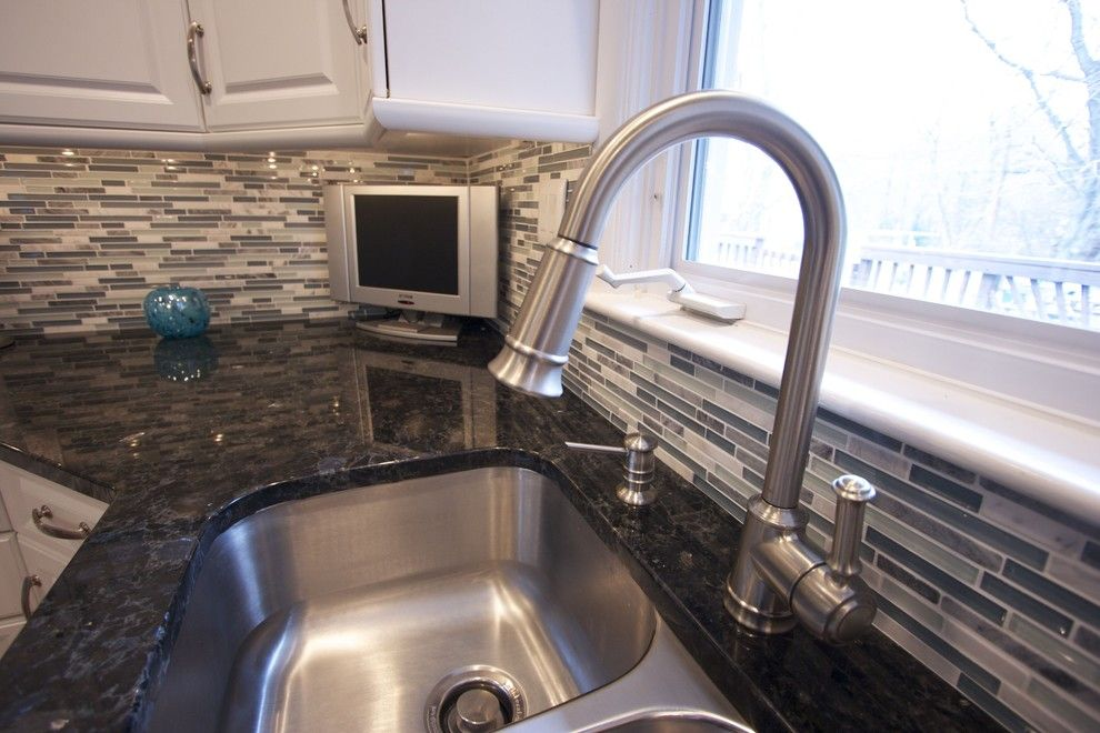 Mchsi for a Traditional Kitchen with a Glass and Kitchen 3 by Faith Home Remodeling Services