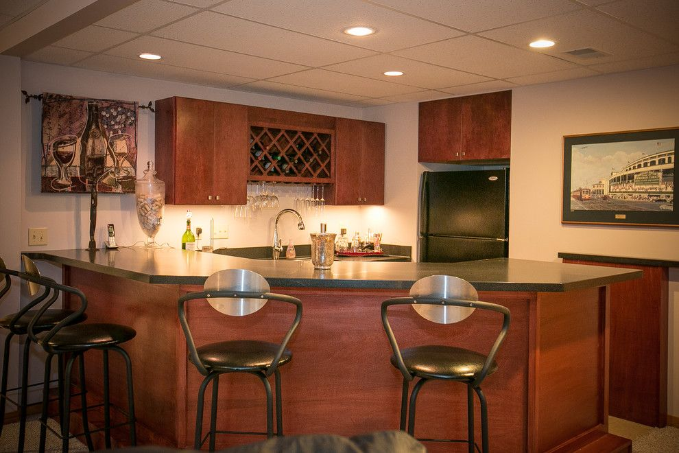 Menards Traverse City for a Traditional Basement with a Saginaw Kitchen Remodel and Perfectly Fine Finished Basement Midland, Mi by Griggs Building & Design Group