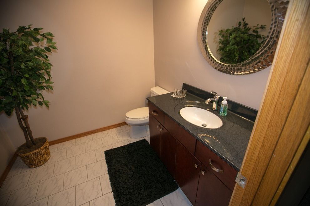 Menards Traverse City for a Traditional Bathroom with a Traverse City Remodel and Perfectly Fine Finished Basement Midland, Mi by Griggs Building & Design Group