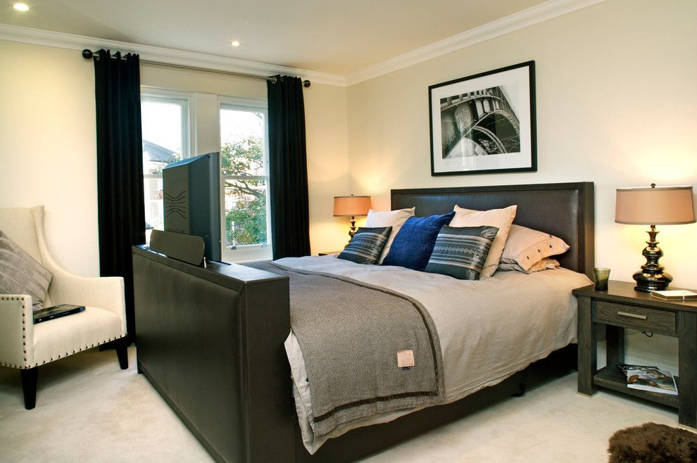 Mens Bedroom Ideas for a Traditional Bedroom with a Male Bedroom Decorating and Richmond by Anthea Turner Home