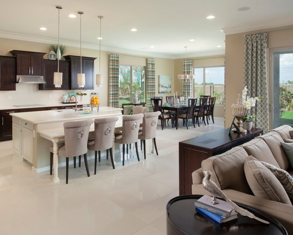 Meritage Homes Az for a Traditional Kitchen with a Side Table and Concord Plan at Victoria | Phoenix, Az by Meritage Homes