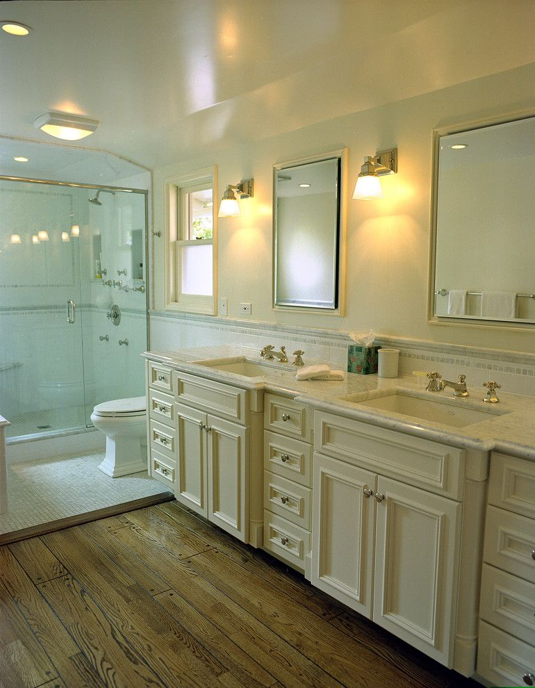 Metropolitan Bath and Tile for a Traditional Bathroom with a Medicine Cabinets and Reaume Construction & Design by Reaume Construction & Design