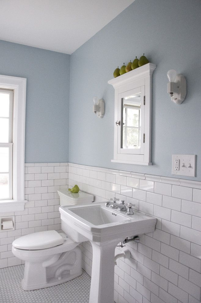 Metropolitan Bath and Tile for a Traditional Bathroom with a Traditional and Vintage Bathroom by Whitefield & Co, LLC