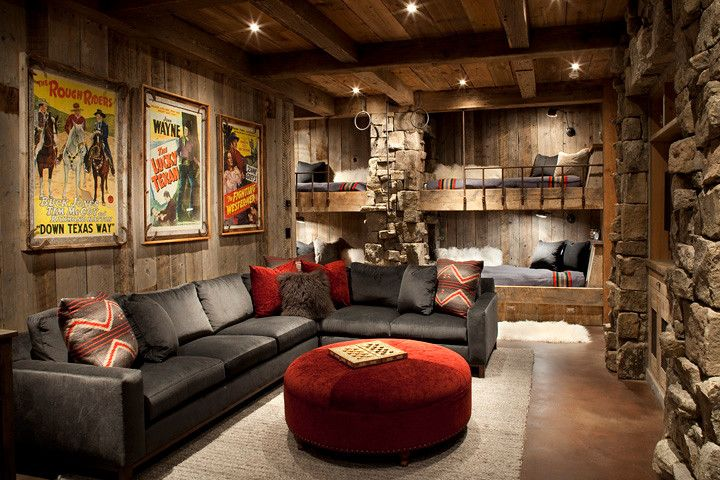 Metropolitan Lumber for a Rustic Kids with a Decorative Pillows and Kids Dungeon Part 2 by Highline Partners, Ltd
