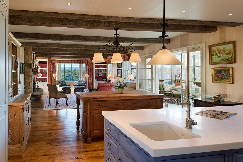 Metropolitan Lumber for a Traditional Kitchen with a Traditional and Upperville by Thorsen Construction