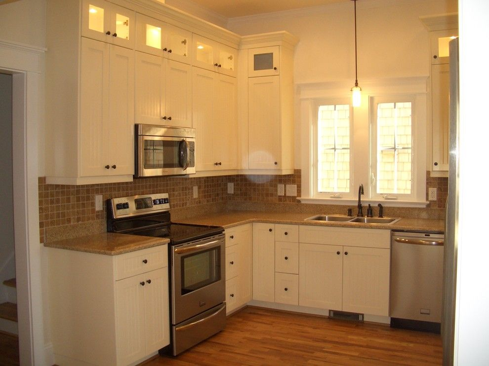 Mid Atlantic Builders for a Traditional Kitchen with a Traditional and Kitchen by Mid Atlantic Custom Builders, Inc
