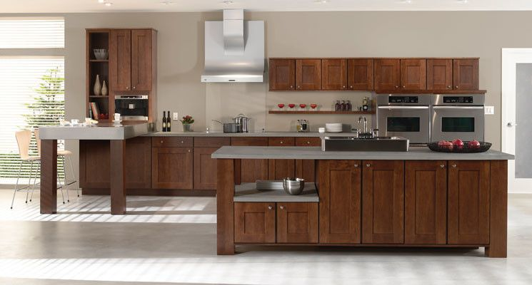 Mid Continent Cabinetry for a Contemporary Kitchen with a Designer Cabinets and Mid Continent Cabinetry by Designer Cabinets