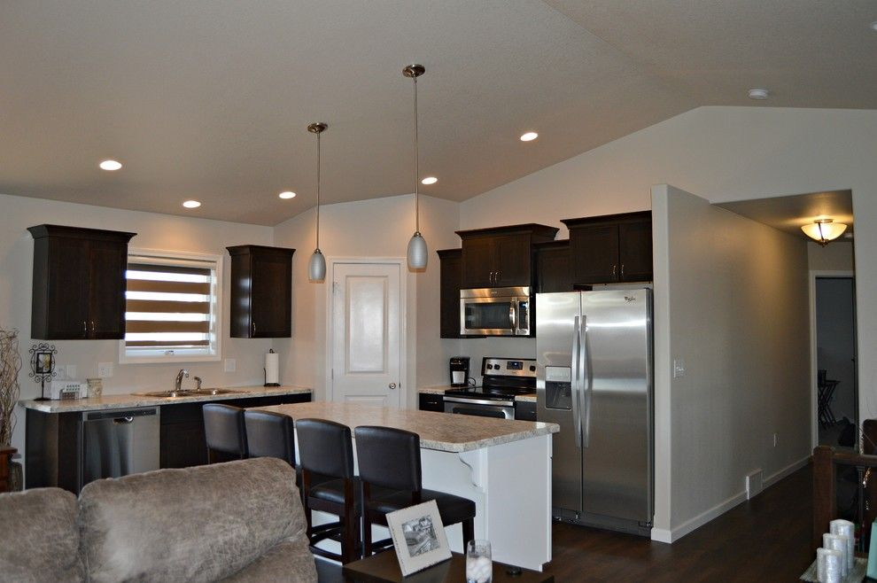 Midcontinent Cabinetry for a Modern Spaces with a Espresso and Concord Espresso by Floor to Ceiling Carpet One