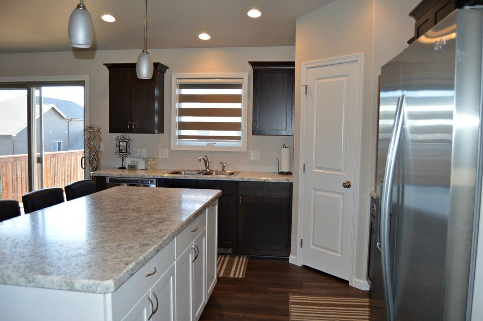 Midcontinent Cabinetry for a Modern Spaces with a Floor to Ceiling Carpet One Dickinson and Concord Espresso by Floor to Ceiling Carpet One