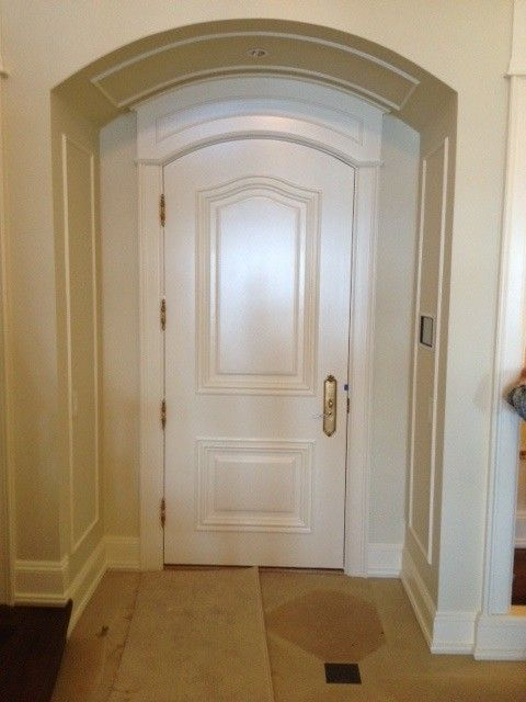 Milliken Doors for a Traditional Entry with a Doors and Wooden Entry and Interior Doors by Thomas & Milliken Millwork, Inc.