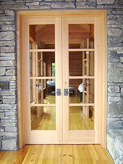 Milliken Doors for a Traditional Entry with a Rustic Doors and Wooden Entry and Interior Doors by Thomas & Milliken Millwork, Inc.