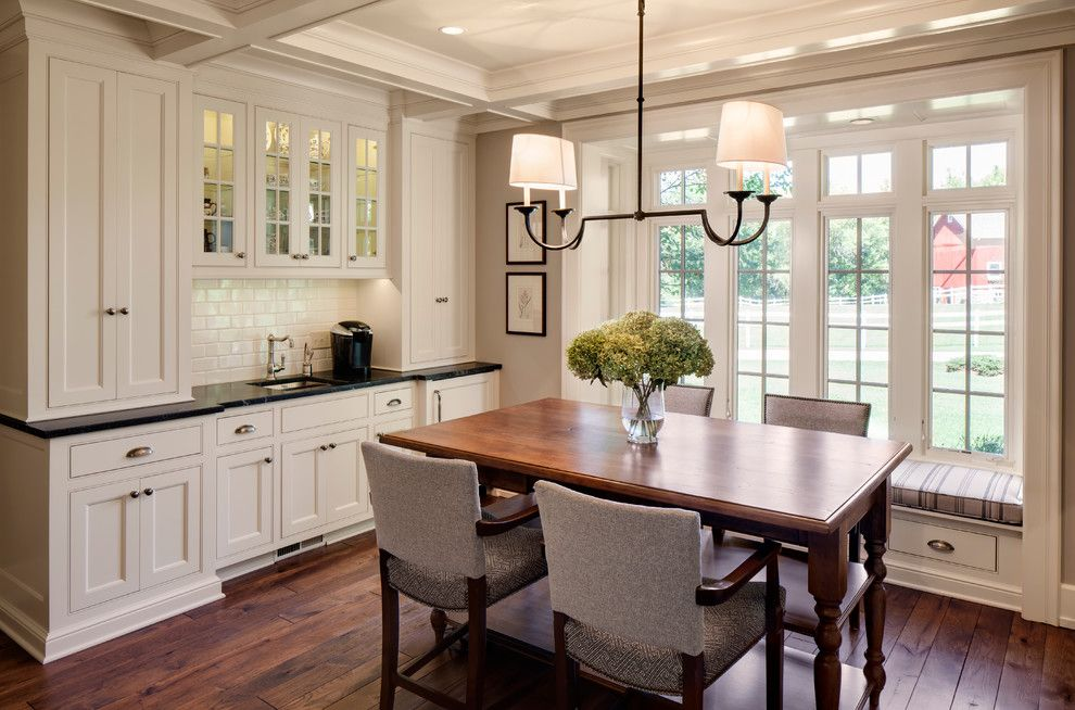Minwax Colors for a Farmhouse Dining Room with a Farmhouse Kitchen and 1800s Farmhouse Remodel by Bartelt. the Remodeling Resource