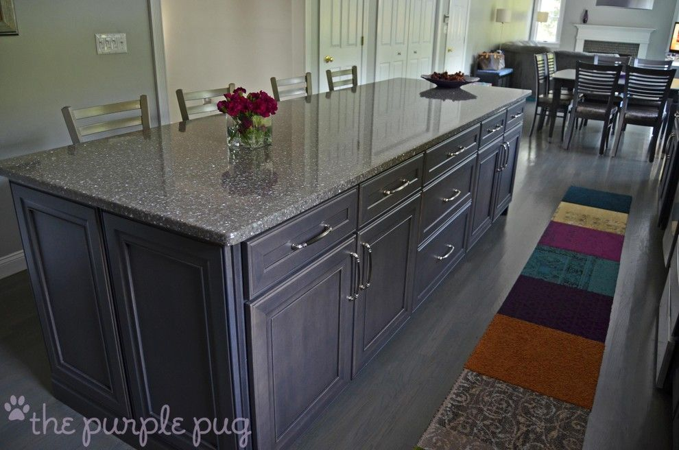 Minwax for a Eclectic Kitchen with a Purple and Kitchen Remodel by Kristymc