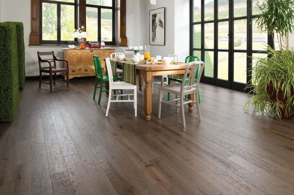 Mirage Flooring for a Farmhouse Dining Room with a Traditional Kitchen and Mirage Floors by Cheaperfloors