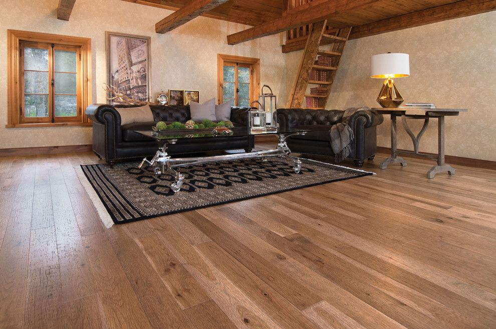 Mirage Flooring for a Mediterranean Living Room with a Living and Mirage Floors by Cheaperfloors