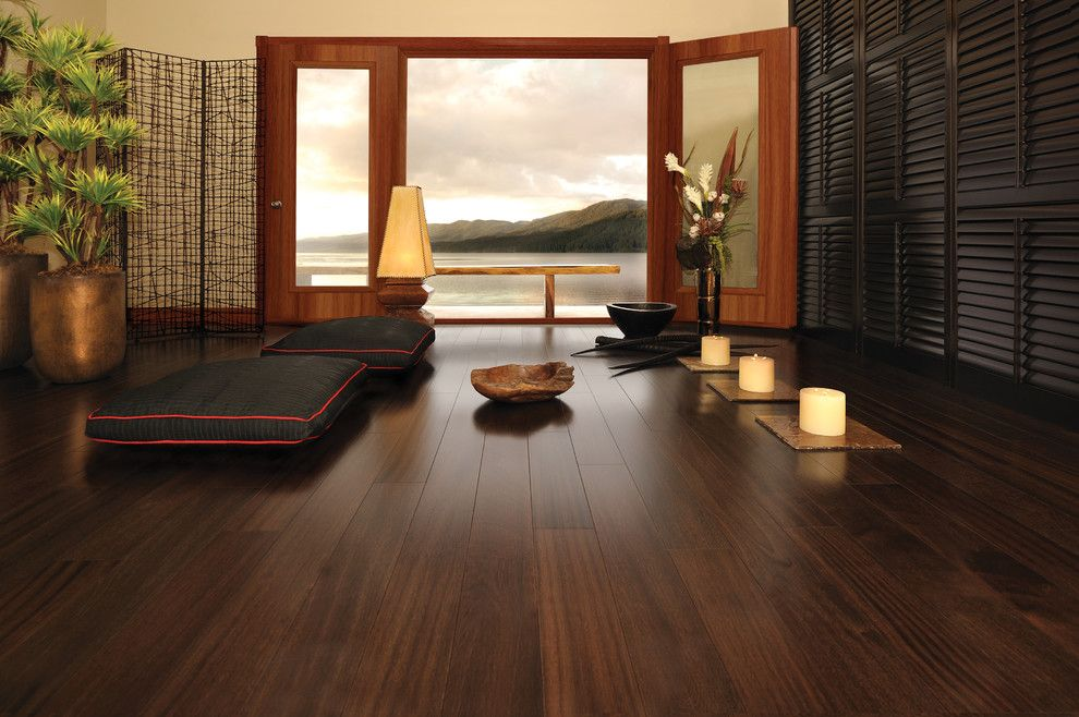Mirage Hardwood for a Asian Home Gym with a Wood Floors and Hardwood Flooring by Migala Carpet One