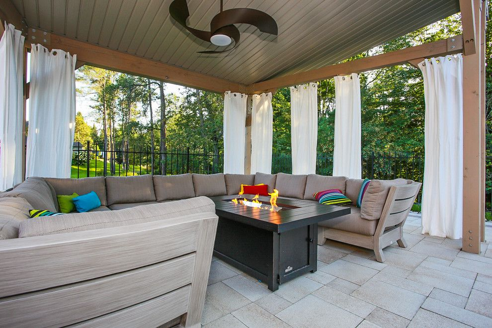 Modern Cabana for a Modern Patio with a Modern Patio and Pool Cabana by Total Living Concepts
