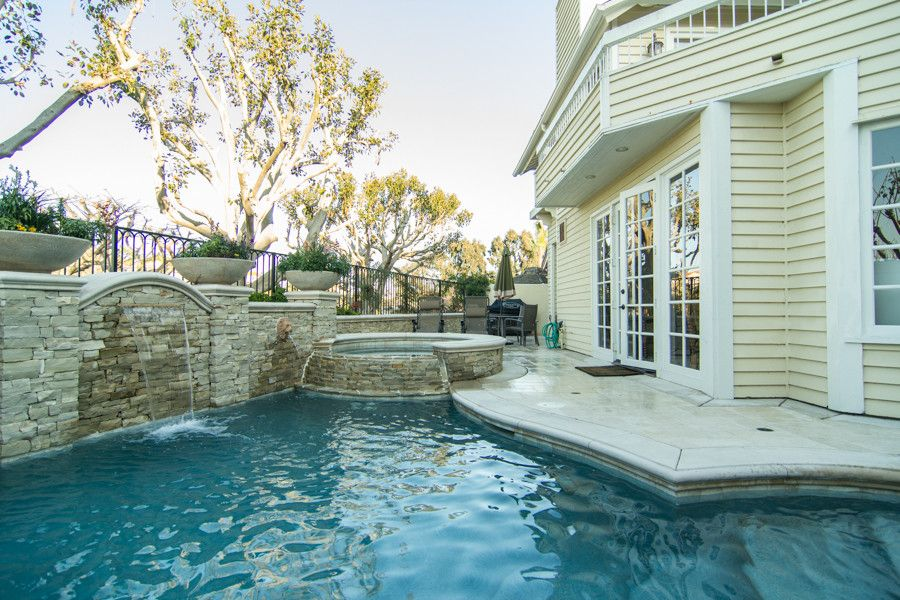Monarch Pools for a Traditional Pool with a Traditional and Beautiful Monarch Beach Remodel by Karen Hakola   Realtor at Hakola & Associates