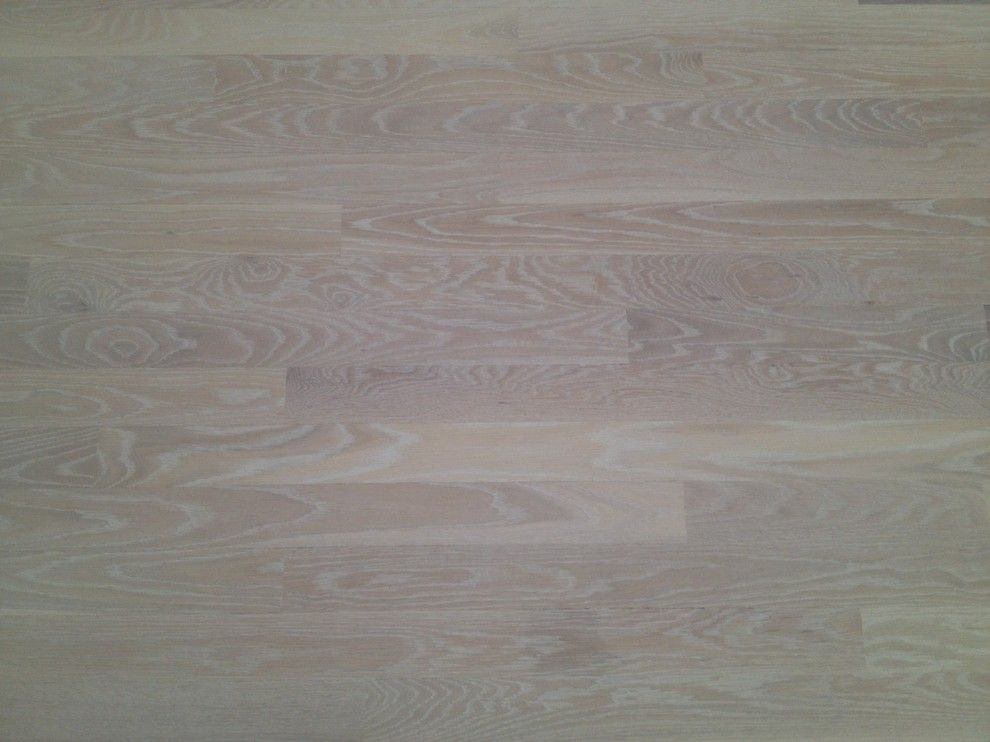 Monocoat for a Contemporary Spaces with a Eco Floor and Rubio Monocoat Cotton White by Eco Options Hardwood