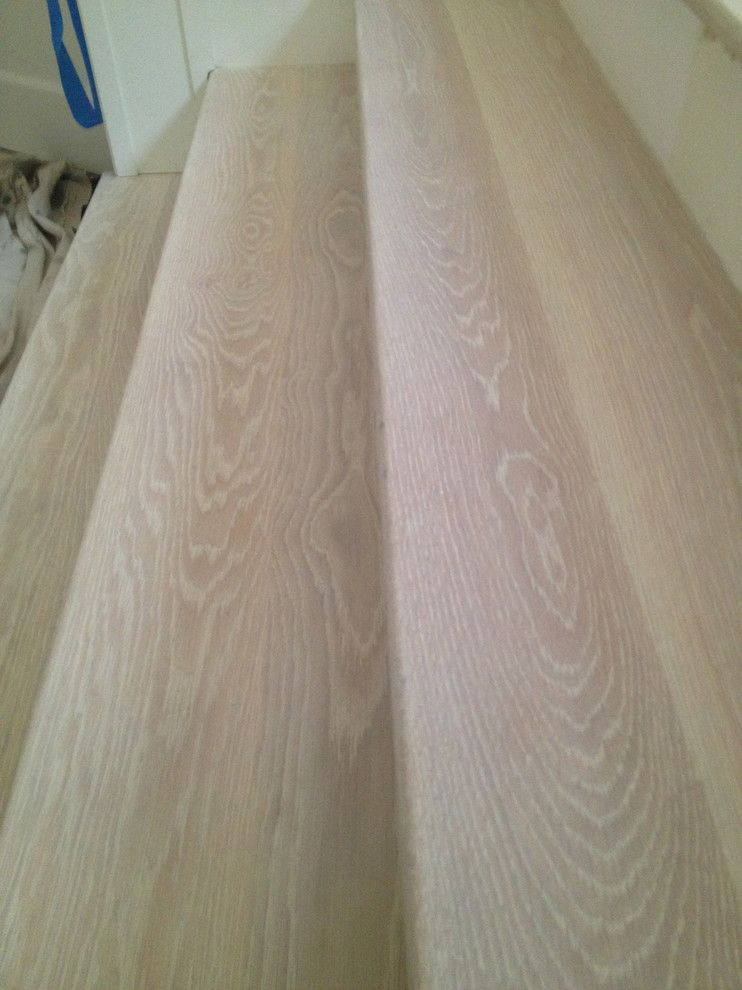 Monocoat for a Contemporary Spaces with a Eco Options Hardwood and Rubio Monocoat Cotton White by Eco Options Hardwood