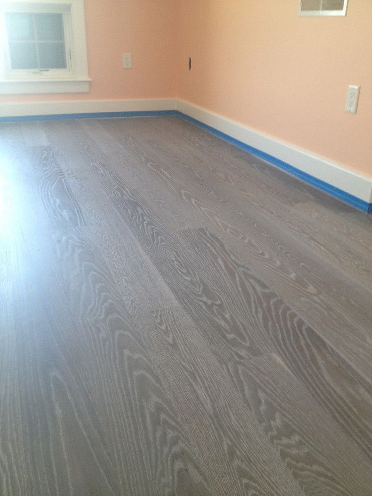 Monocoat For A Modern Spaces With A Bespoke Flooring And Rubio