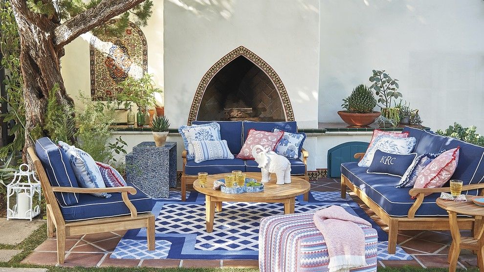 Mor Furniture for a Eclectic Patio with a Eclectic and Outdoor 2016 by Frontgate